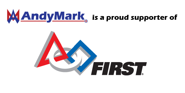 AndyMark supports the <i>FIRST</i> family of programs